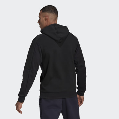 Men Athletics Black adidas Sportswear Stadium Pullover
