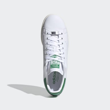 Stan Smith Shoes with Swarovski® crystals Bialy