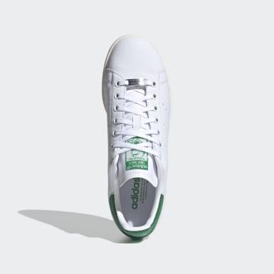 Erkek Originals Beyaz Swarovski® Kristalli Stan Smith Ayakkabı