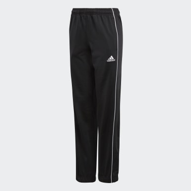 Kids Football Black Core 18 Tracksuit Bottoms