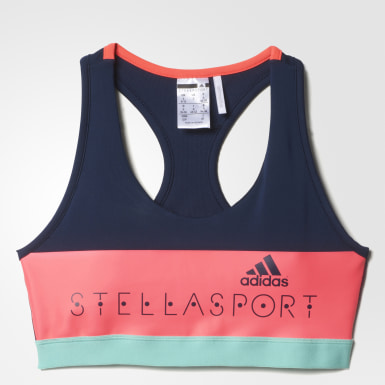 adidas STELLASPORT Padded Sports Bra Azul Mujer Training