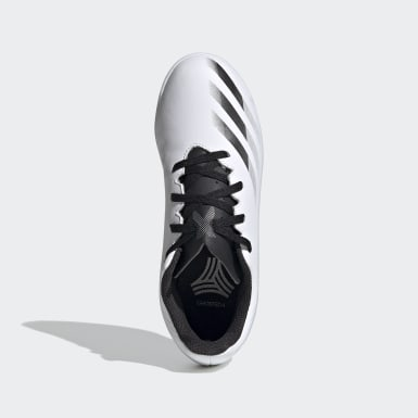 Boys Football White X Ghosted.4 Indoor Boots