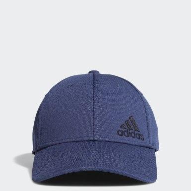 Men Training Blue Release 2 Stretch-Fit Cap