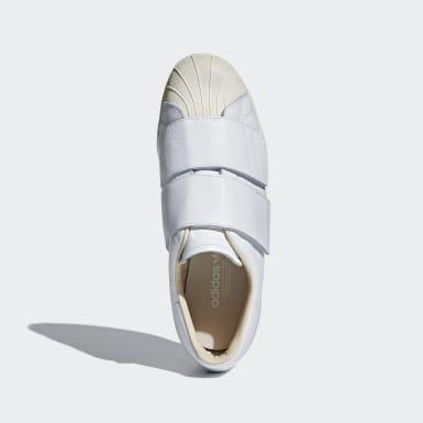 Kvinder Originals Hvid Superstar 80s CF sko