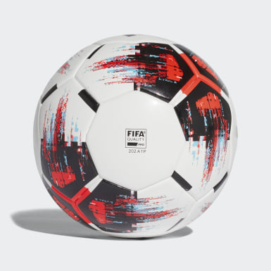 Fodbold Hvid TEAM kampbold