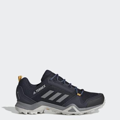 Sapatos de Caminhada AX3 GORE-TEX TERREX Azul TERREX