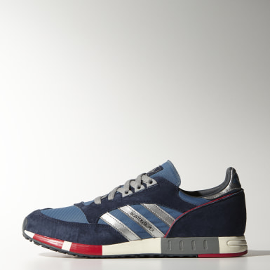 Originals Blauw Boston Super Schoenen