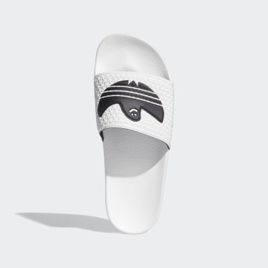 Men's Originals White Shmoofoil Slides