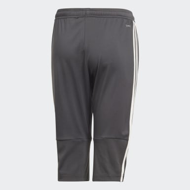 Pants Mexico 3/4 Gris Niño Fútbol