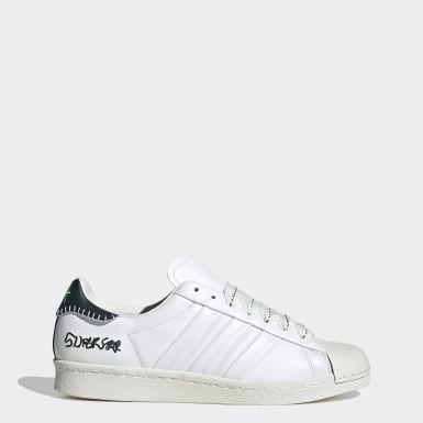 Men's Originals White Jonah Hill Superstar Shoes