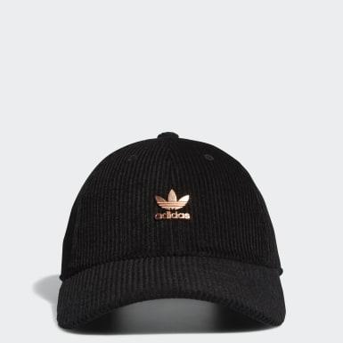 Women's Originals Black Relaxed Metal Hat