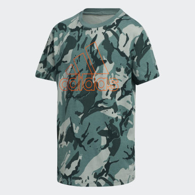 Youth Training Green Classics Camo Tee