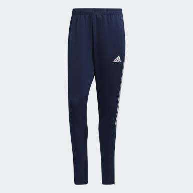 Men Football Blue Tiro 21 Track Pants