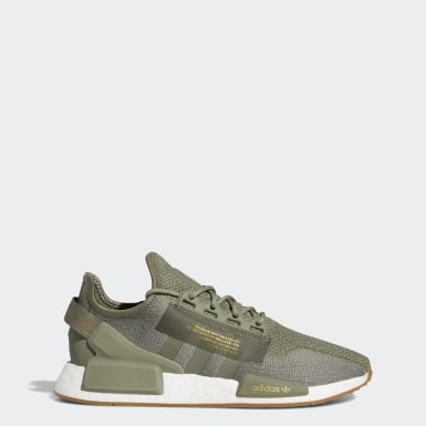 Men's Originals Green NMD_R1 V2 Shoes