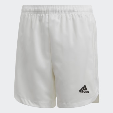 Youth Soccer White Condivo 20 Shorts