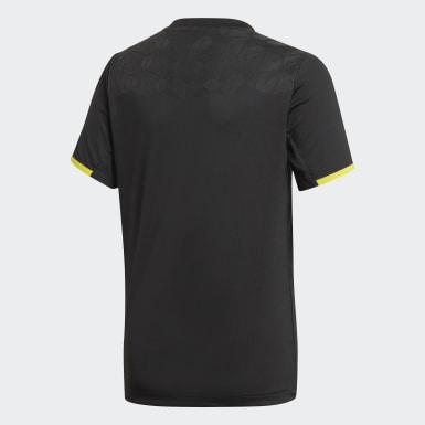 Boys Træning Sort Football Inspired Predator AEROREADY trøje