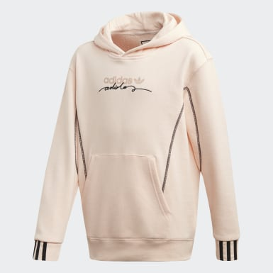 Youth Originals Pink R.Y.V. Hoodie