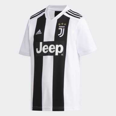 Youth 8-16 Years Football White Juventus Home Jersey