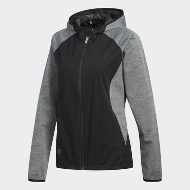 Women Golf Black Climastorm Jacket