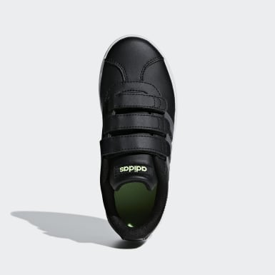 Children Sport Inspired Black VL Court 2.0 Shoes