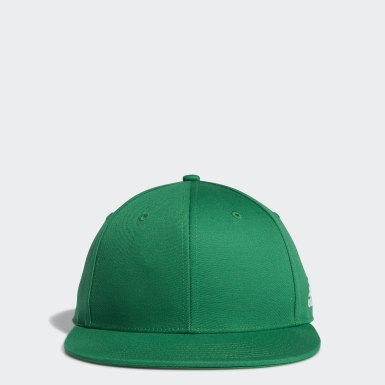 Men's Training Green Structured Snapback Hat