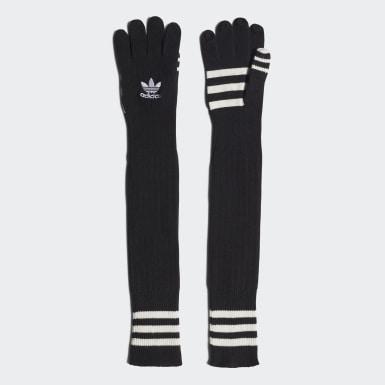 Women Originals Black Paolina Russo Gloves