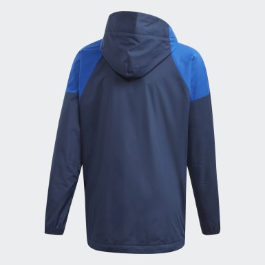 Youth 8-16 Years Training Blue ID WND Jacket