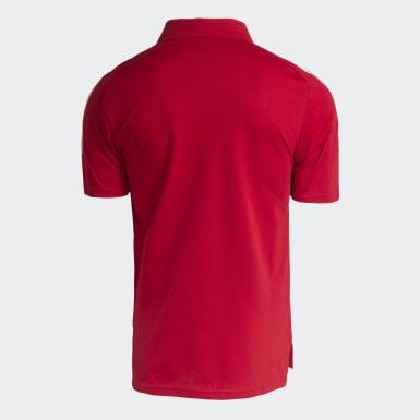 POLO VIAGEM INTERNACIONAL ATLETA Vermelho Homem Futebol