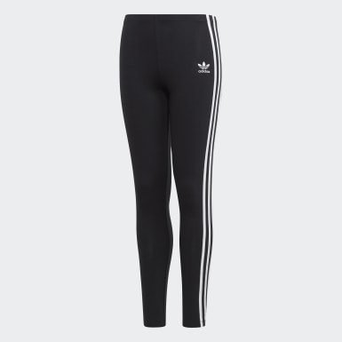 Legging 3-Stripes noir Adolescents Originals