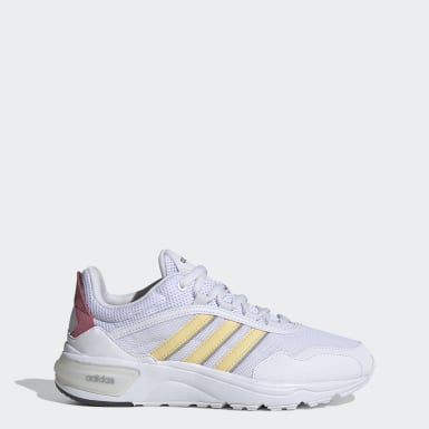 Dam Löpning Vit 90s Runner Shoes