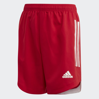 Youth Soccer Red Condivo 20 Shorts