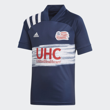 Youth Soccer Blue New England Revolution Home Jersey