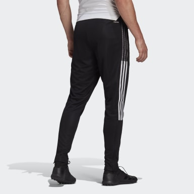 Men Football Black Tiro 21 Track Pants
