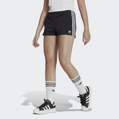 Dames Originals zwart 3-Stripes Short