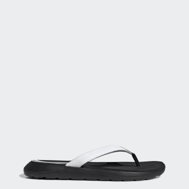 ผู้หญิง ว่ายน้ำ สีดำ รองเท้าแตะ Comfort