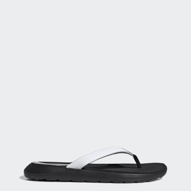 Women's Swim Black Comfort Flip-Flops