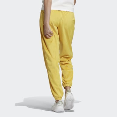 Women Originals Yellow Cuffed Pants