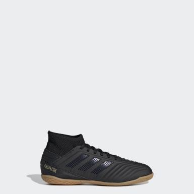 Børn Fodbold Sort Predator Tango 19.3 Indoor støvler