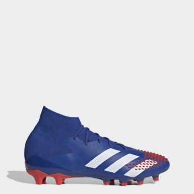 Voetbal Blauw Predator Mutator 20.1 Artificial Grass Voetbalschoenen
