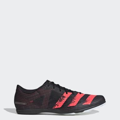 Sapatos de Bicos Distancestar Preto Homem Atletismo