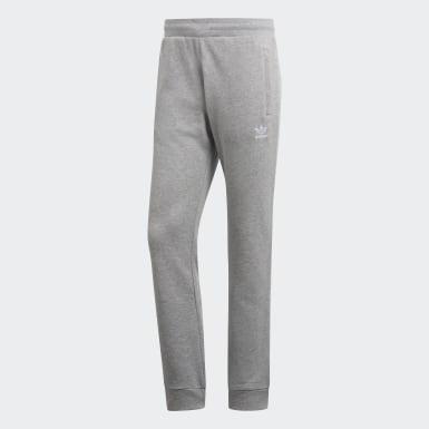 Mænd Originals Grå Trefoil Essentials bukser