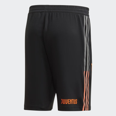 Heren Voetbal Zwart Juventus Travel Short
