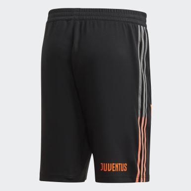 Männer Fußball Juventus Turin Travel Shorts Schwarz