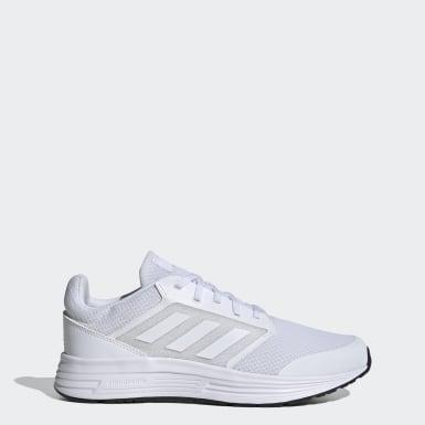 Men Running White Galaxy 5 Shoes
