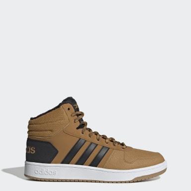 коричневый Баскетбольные кроссовки Hoops 2.0 Mid