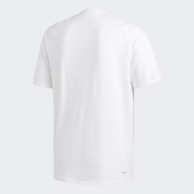 Mænd Studio Hvid FreeLift Sport Prime Lite T-shirt
