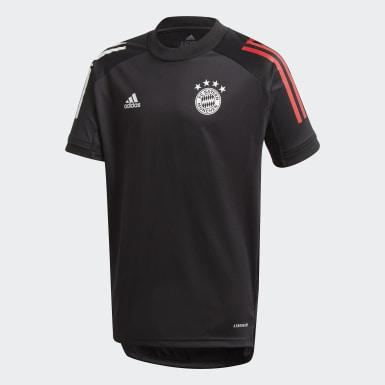 Kinder Fußball FC Bayern München Trainingstrikot Schwarz