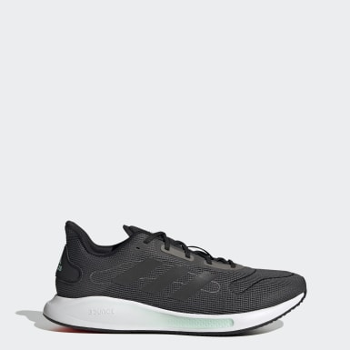 Men Running Grey Galaxar Run Shoes