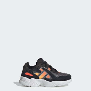 Kids Originals Black Yung-96 Chasm Shoes