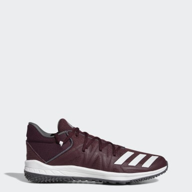 Baseball Burgundy Speed Turf Shoes